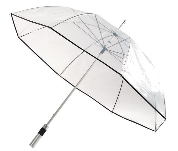 Transparentny parasol Observer